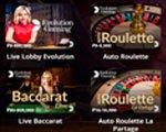 Игры в live casino