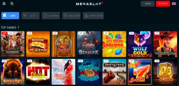 Обзор казино Megaslot